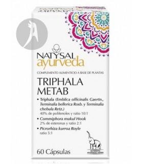 Ayurveda Triphala Metab · Natysal · 60 Cápsulas