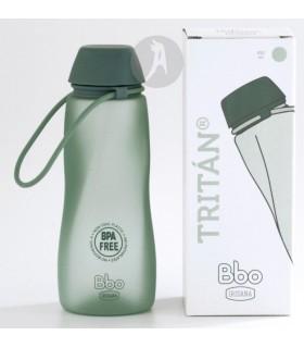 Botella de Agua Reutilizable de Tritán · BBO Irisana · 500 Ml