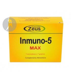 Inmuno 5 Max · Zeus · 7 Sobres