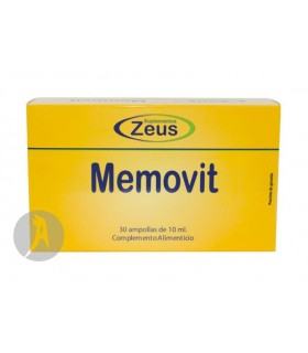Memovit · Zeus · 30 Ampollas