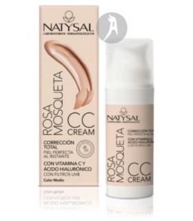 CC Cream Rosa Mosqueta FPS 30 · Natysal · 50 Ml
