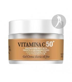 Gel Crema Vitamina C 50+ · Natysal · 50 Ml