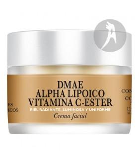 Crema Facial DMAE-Alpha Lipoico-Vit C-Ester · Natysal · 50 Ml