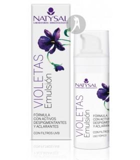 Emulsión de Violetas Despigmentante  · Natysal · 30 Ml