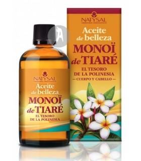 Aceite de Belleza Monoï de Tiaré · Natysal · 100 Ml