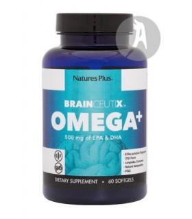 Brainceutix Omega+ · NaturesPlus · 90 Cápsulas
