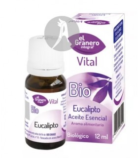 Aceite Esencial de Eucalipto BIO · El Granero Integral · 12 Ml