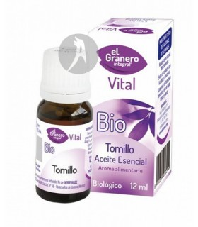 Aceite Esencial de Tomillo BIO · El Granero Integral · 12 Ml