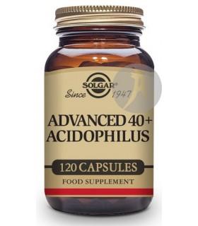 Acidophilus Avanzado 40+ Probióticos · Solgar · 120 Cápsulas Vegetales
