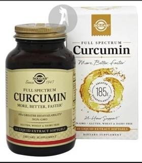 Full Spectrum Cúrcuma · Solgar · 30 Cápsulas