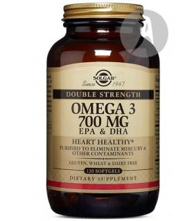 Omega 3 Doble Concentración · Solgar · 120 Cápsulas