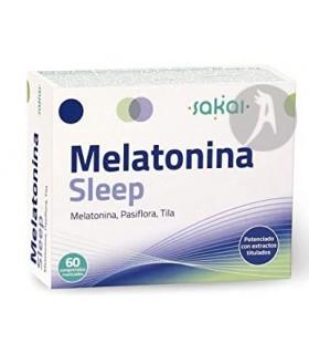 Melatonina Sleep · Sakai · 60 Comprimidos Masticables