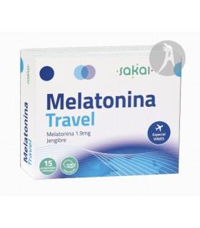 Melatonina Travel · Sakai · 15 Comprimidos Masticables