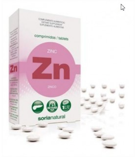 ZINC-SORIA NATURAL-48Cap retard