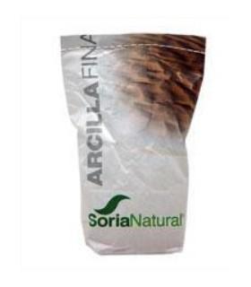 ARCILLA FINA -SORIA NATURAL-1Kg.