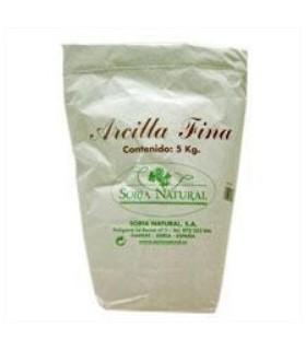ARCILLA FINA -SORIA NATURAL-5Kg.