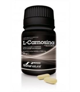L CARNOSINA+GLICINA-SORIA NATURAL-60Comprimidos