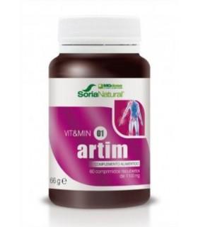 vit&min 01 ARTIM-SORIA NATURAL-60Comprimidos