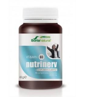 vit&min 03 NUTRINERV-SORIA NATURAL-60Comprimidos
