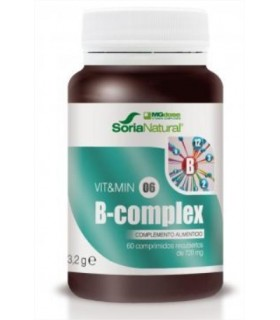 vit&min 06 B-COMPLEX-SORIA NATURAL-60Comprimidos