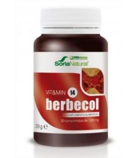 vit&min 14 BERBECOL-SORIA NATURAL-30Comprimidos