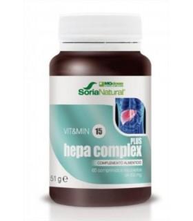 vit&min15 HEPA COMPLEX PLUS-SORIA NATURAL-60Comprimidos