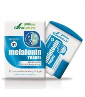 vit&min 31 MELATONIN TRAVEL-SORIA NATURAL-90Comprimidos