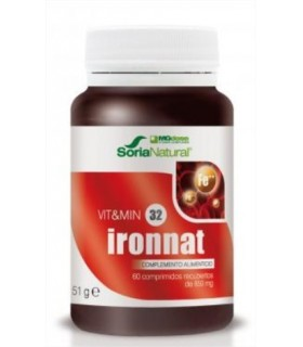 vit&min 32 IRONNAT-SORIA NATURAL-60Comprimidos