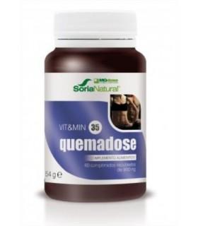 vit&min 35 QUEMADOSE-SORIA NATURAL-60Comprimidos