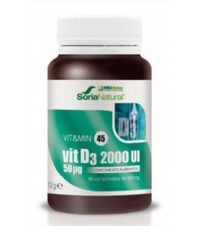 vit&min 45 VIT D3 2000UI-SORIA NATURAL-60Comprimidos