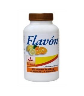 FLAVON · VITAMINA C Y FLAVONOIDES  · BI-LEMA 100 CÁPSULAS