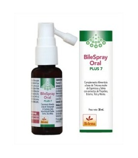 BileSpray ORAL PLUS 7-BILEMA-30ml