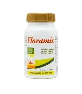 FLORAMIX · PROBIÓTICO · BI-LEMA · 30 CÁPSULAS