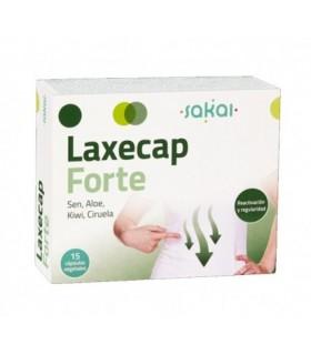 Laxecap Forte · Sakai · 15 Cápsulas