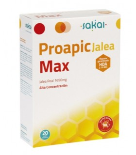 Proapic Jalea Max Sakai 20 Viales