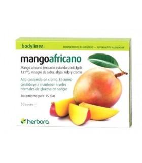 Mango Africano . Herbora . 30 Cápsulas