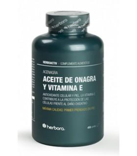 ACEITE DE ONAGRA Y VITAMINA E - Acenagra . Herbora . 450 Perlas
