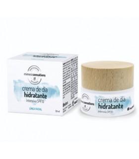 Crema de día hidratante intensiva SPF 15 - Mimesis Sensations - Herbora - 50 ml