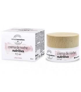 Crema de noche nutritiva Anti-age · Herbora · 50 Ml