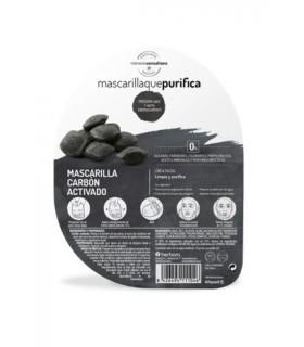 Mascarilla Monodosis Carbón Activado · Herbora · 1 Unidad