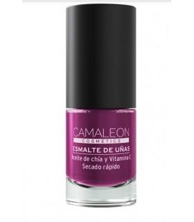 Esmaltes de Uñas · Camaleon Cosmetics · Berenjena Larga Duración