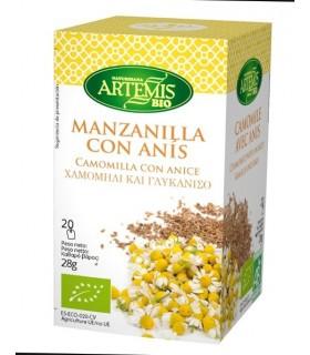 Manzanilla con Anís · Artemis BIO · 20 Filtros