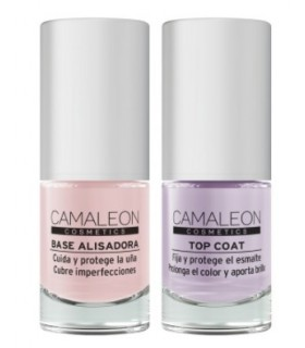 Pack Manicura Perfecta - Base + Top Coat · Camaleon