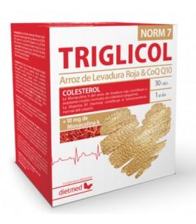 Triglicol NORM 7 · Dietmed · 30 cápsulas