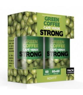 Café Verde Strong  Novity · Dietmed · 60+60 cápsulas