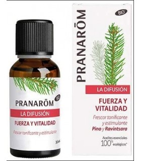 Aceite Esencial para Difusor Pino y Ravintsara · Pranarom · 30 Ml