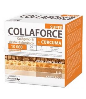 Super Collaforce + Curcuma · Dietmed · 20 Sobres