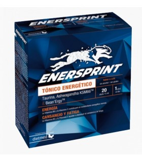 Enersprint Tónico Energético · Dietmed · 20 viales