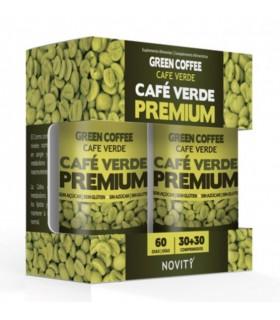 Cafe Verde Premium  Novity · Dietmed ·  30+30 comprimidos