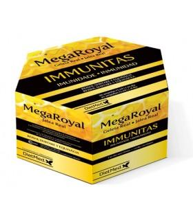 Megaroyal Immunitas · Dietmed · 20 ampollas
